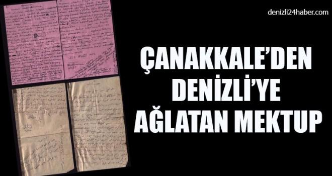 Çanakkale'den Denizli'ye Ağlatan Mektup