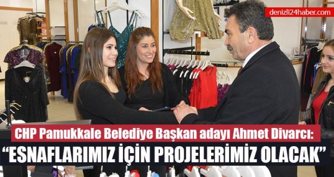 """Ahmet Divarcı: """"Esnaflarımız İçin Projelerimiz Olacak"""""""