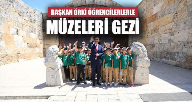 Başkan Örki Öğrencilerlerle Müzeleri Gezi