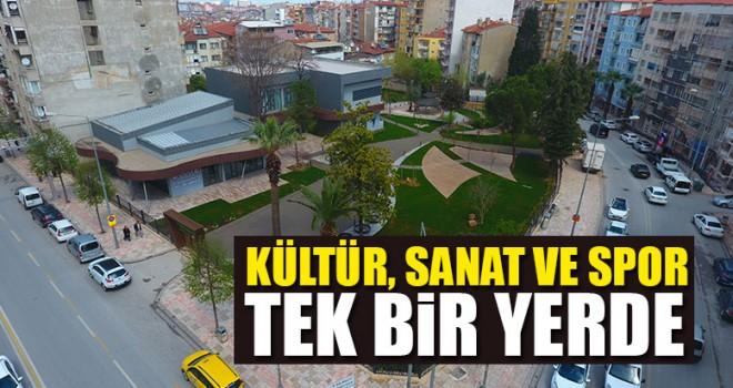 Denizli'nin Yeni Sosyal Yaşam Ve Kültür Merkezi