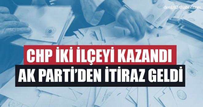 CHP İki İlçeyi Kazandı AK Parti'den İtiraz Geldi