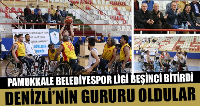 Pamukkale Belediyespor Ligi Beşinci Bitirdi