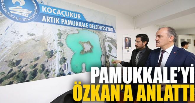 Pamukkale Özkan'ı ağırladı