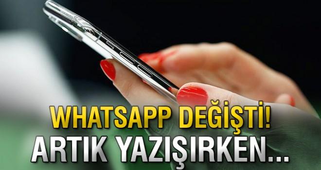WhatsApp o özelliği kullanıcılarına sundu!