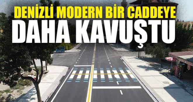 Denizli Modern Bir Caddeye Daha Kavuştu