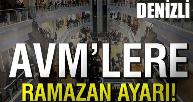 AVM'lerin kapanış saatine ramazan ayarı!