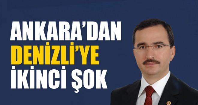 Ankara'dan Denizli'ye İkinci Şok