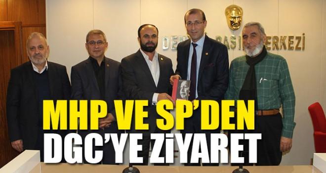 MHP ve SP'den DGC'ye Ziyaret
