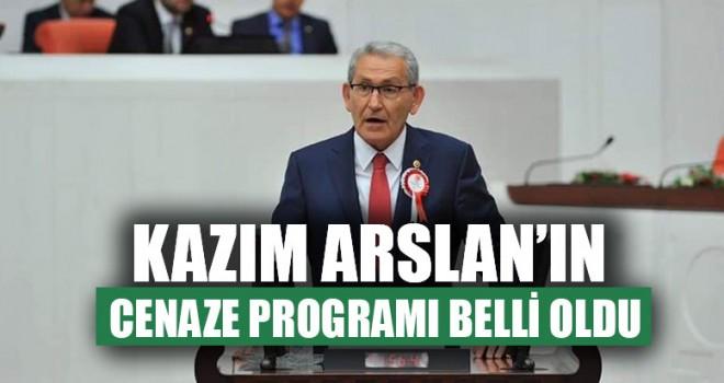 Kazım Arslan'ın Cenaze Programı Belli Oldu