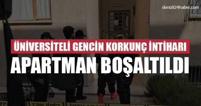 Denizli'de genç üniversiteli siyanür içerek intihar etti