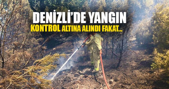 Yangın kontrol altına alındı fakat..