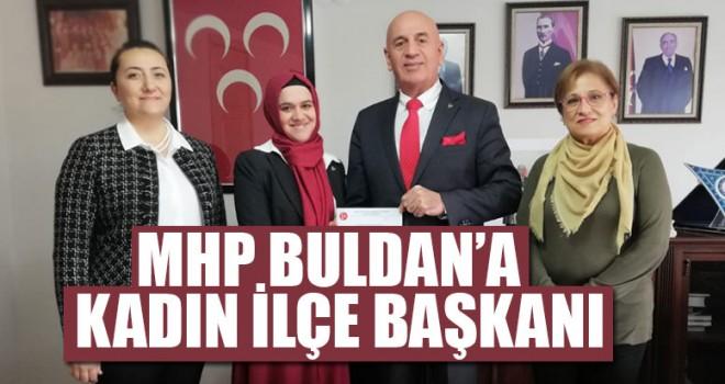 MHP Buldan'a Kadın İlçe Başkanı