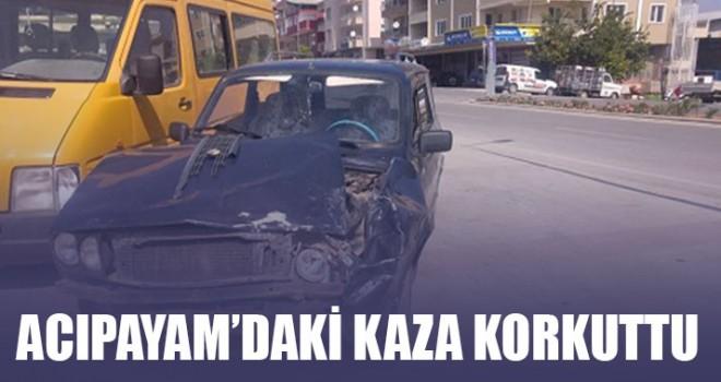 Acıpayam'daki Kaza Korkuttu
