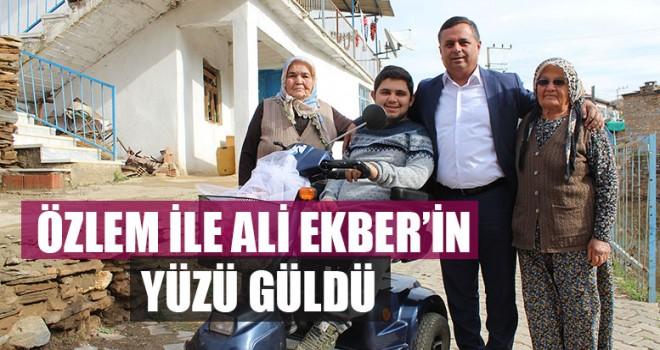 Özlem İle Ali Ekber'in Yüzü Güldü