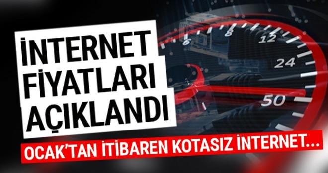 Türk Telekom kotasız internet tarifeleri açıklandı Türk Telekom internet fiyatları