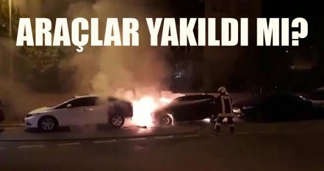 Araçlar Yakıldı Mı?