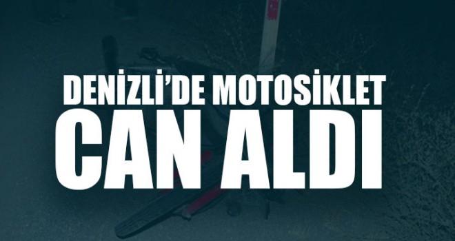 Denizli Acıpayam'da Motosiklet sürücü Süleyman Duru öldü