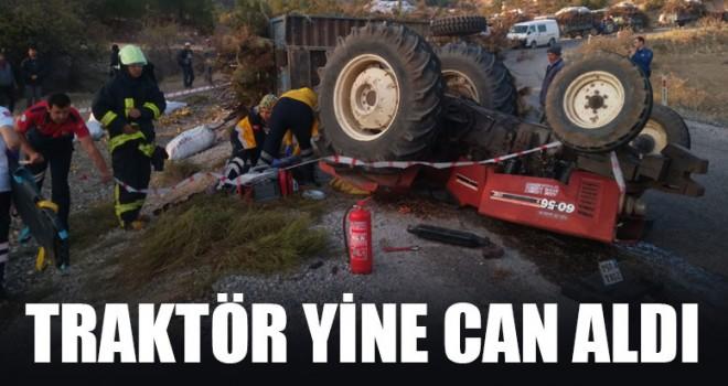 Traktör Yine Can Aldı