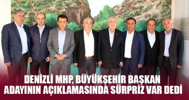 Denizli MHP, Büyükşehir Başkan Adayının Açıklamasında Sürpriz Var Dedi