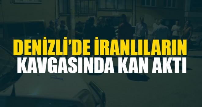 Denizli'de İranlıların Kavgasında Kan Aktı