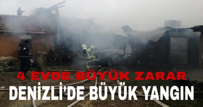 Denizli'de büyük yangın
