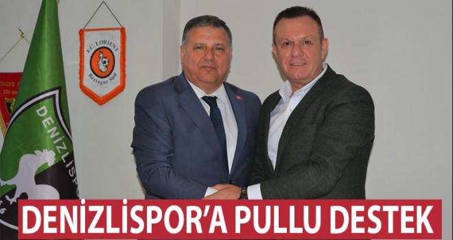 Denizlispor'a PTT'den destek