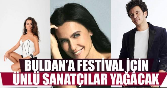Buldan'a Festival İçin Ünlü Sanatçılar Yağacak