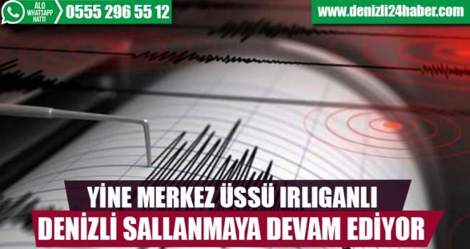Denizli'de arka arkaya 2 deprem