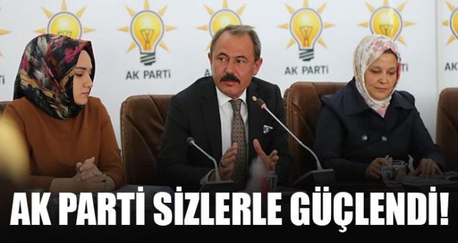 "Milletvekili Şahin Tin, ""AK Parti sizlerle güçlendi!"""