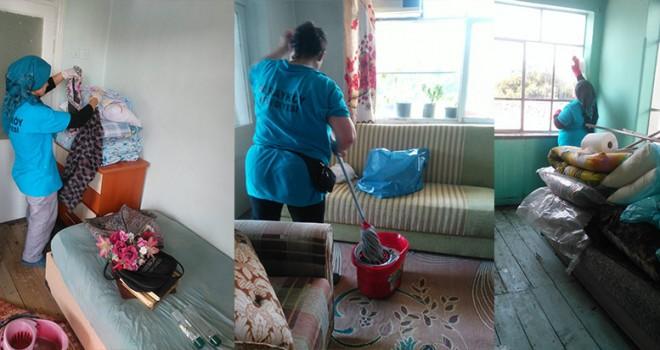 Sarayköy'de evde temizlik hizmetine tam not