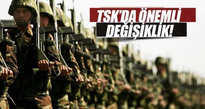 TSK'da büyük değişiklik! Rütbeli subayların hizmet süresi uzatıldı