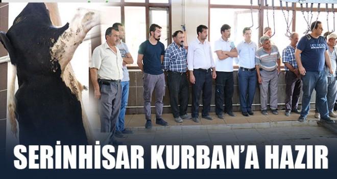 Serinhisar Kurban'a Hazır