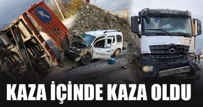 Kaza İçinde Kaza Oldu