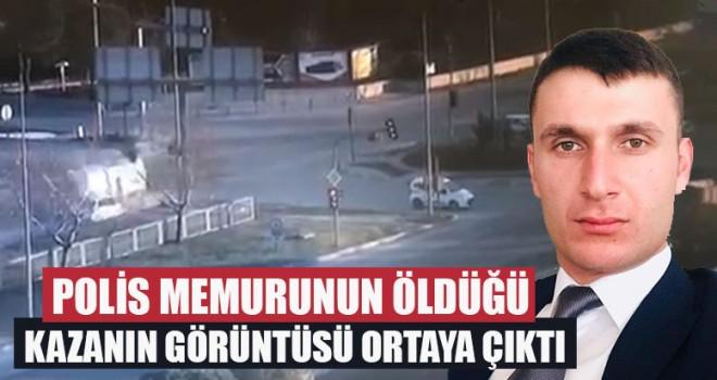 Polis Memurunun Öldüğü Kazanın Görüntüsü Ortaya Çıktı