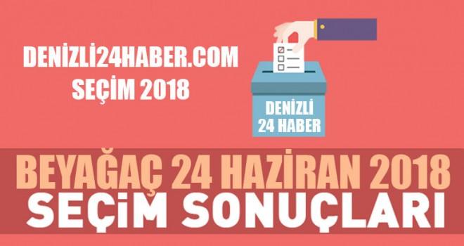 Beyağaç 2018 seçim sonuçları Bayağaç Cumhurbaşkanlığı seçim sonuçları