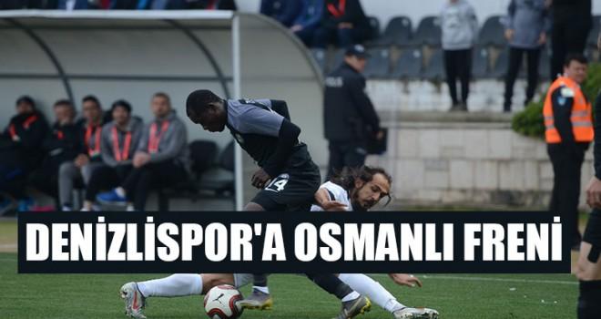 Denizlispor'a Osmanlıspor maç sonucu