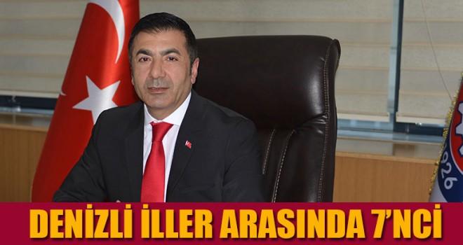 DENİZLİ İLLER ARASINDA 7'NCİ