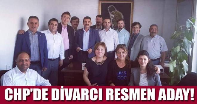 CHP'de Divarcı resmen aday