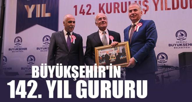 Büyükşehir'in 142. Yıl gururu