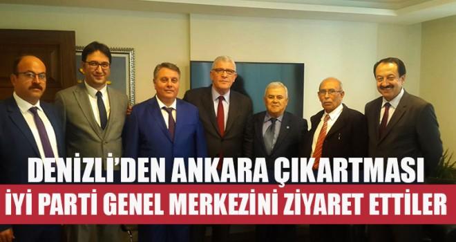 Denizli'den Ankara Çıkartması