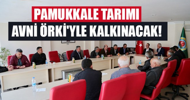 Pamukkale Tarımı Avni Örki'yle Kalkınacak!