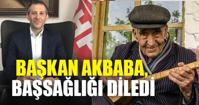 Başkan Akbaba, Başsağlığı Diledi
