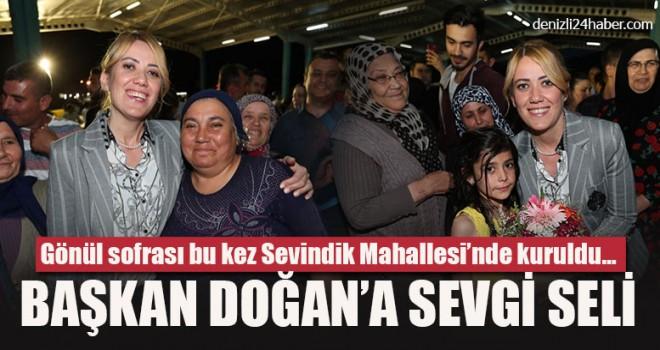 Merkezefendi Belediyesi'nin iftar sofrası Sevindik'te kuruldu