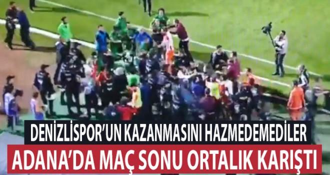 Denizlispor'un galibiyetini hazmedemediler