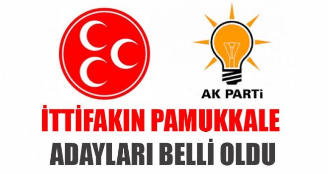 İttifakın Pamukkale Belediye Meclis Üyesi Adayları Açıklandı