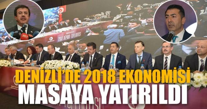 Denizli'de 2018 Ekonomisi Masaya Yatırıldı