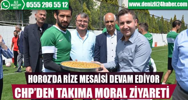 CHP'DEN HOROZ'A ZİYARET