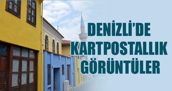 Denizli'de Kartpostallık Görüntüler