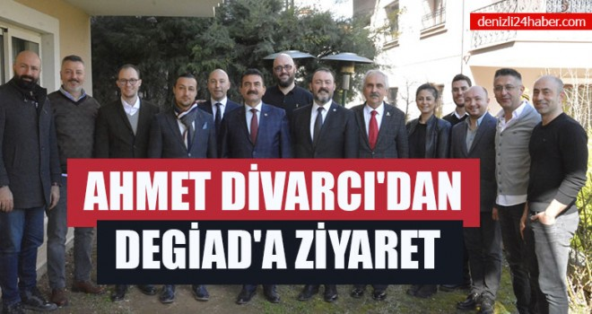 Ahmet Divarcı'dan DEGİAD'a Ziyaret