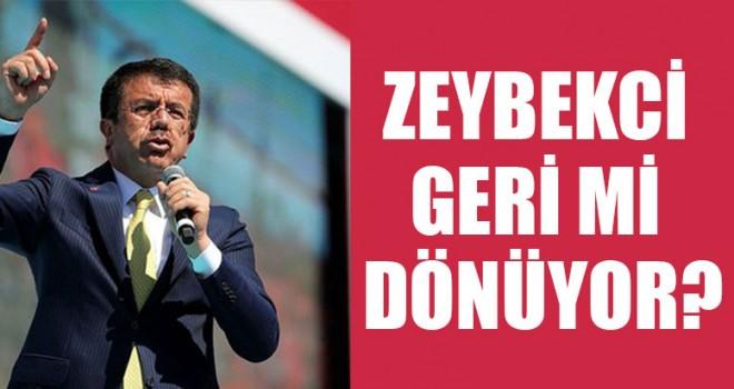 Nihat Zeybekci Geri Mi Dönüyor?